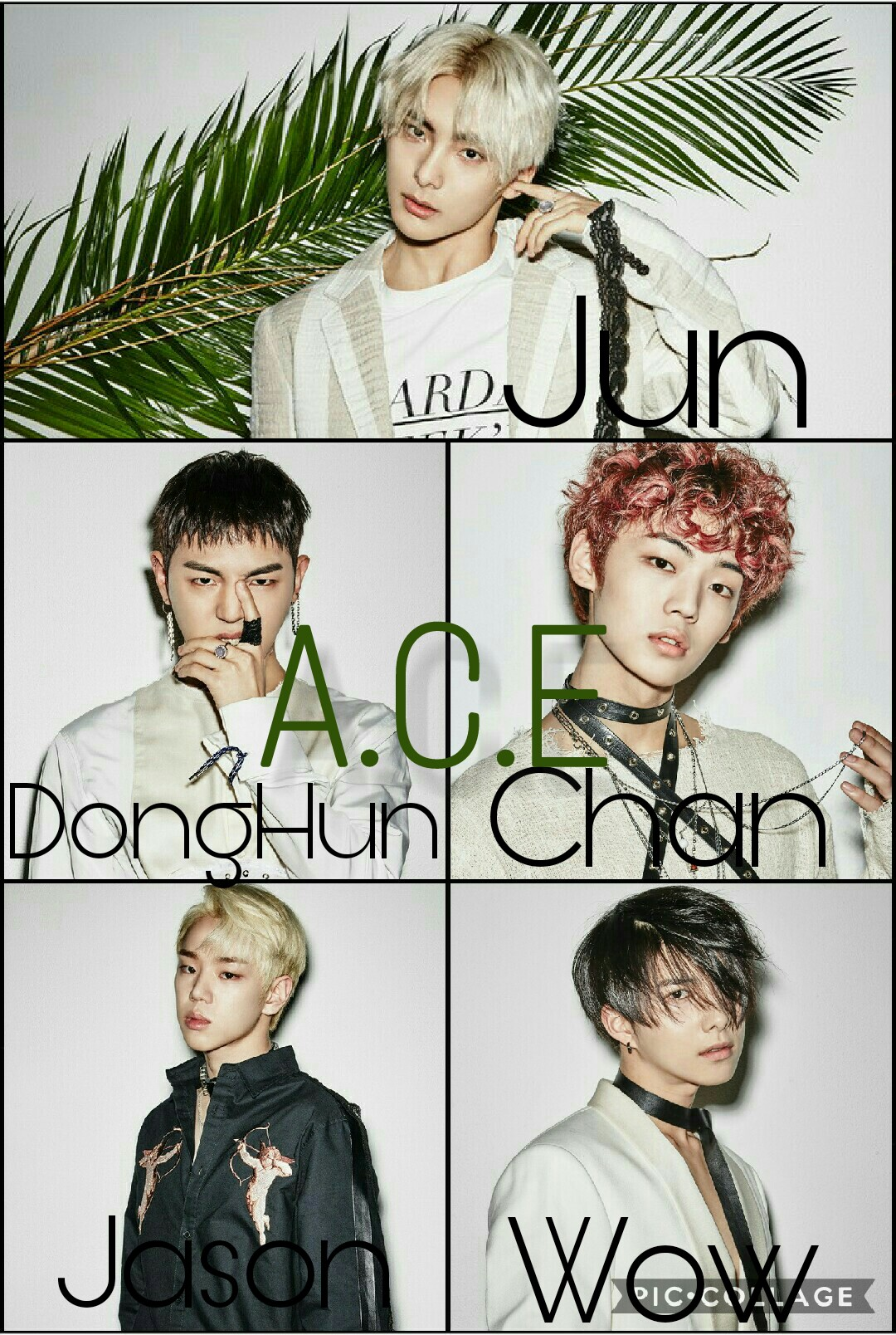 Jun Donghun Chan Jason Wow Ace Ace Kpop Wallpaper