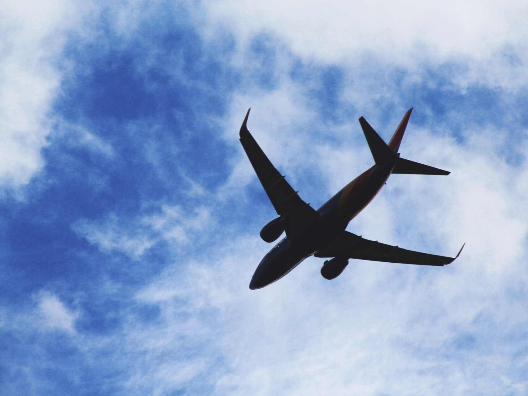 Fly Far Away ️ ⛅️ Freetoedit Flight Plane Sky Cloud
