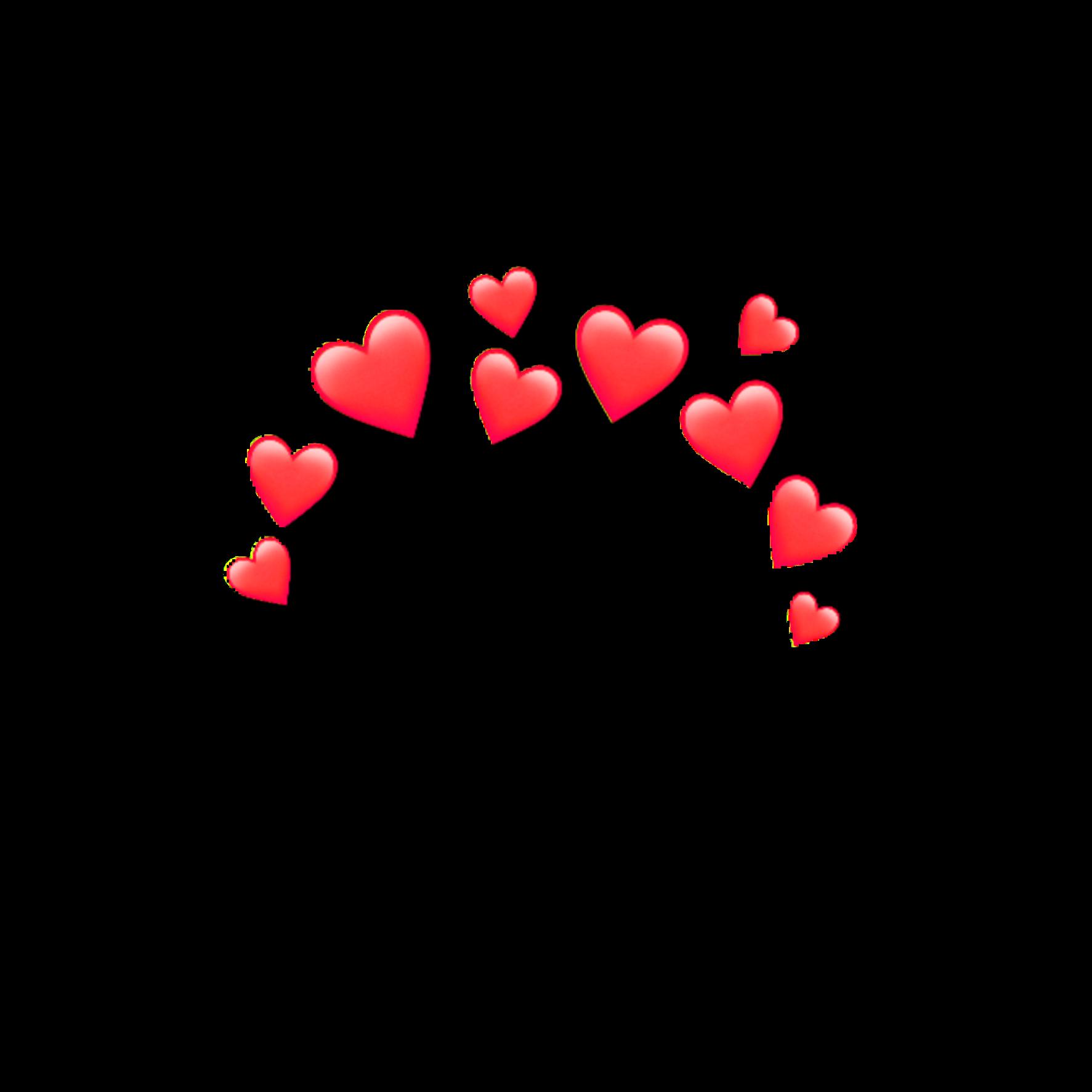 Red Heart Heartcrown Crown Emoji Iphone Random