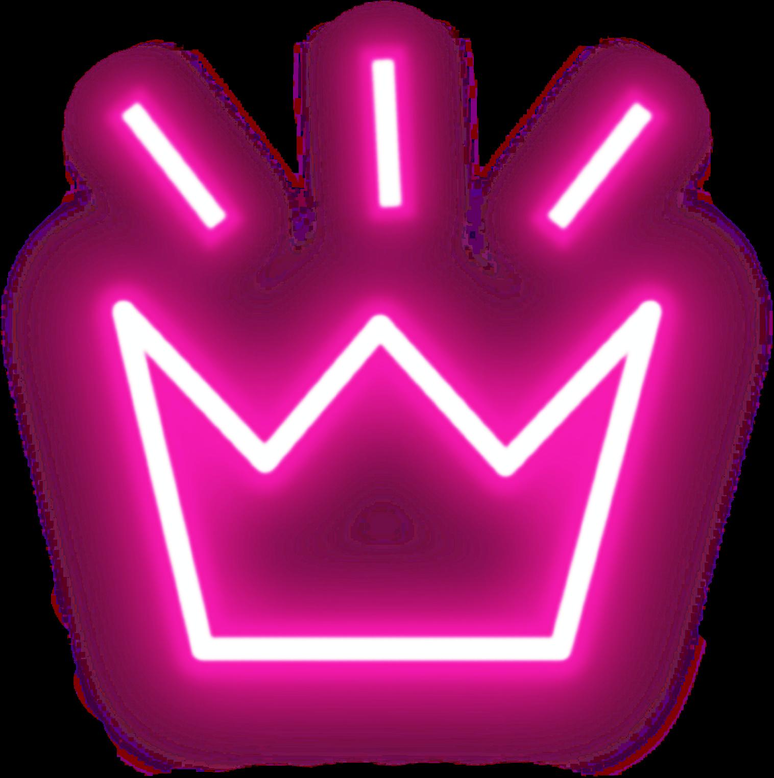 Neon Neonart Crown Glow