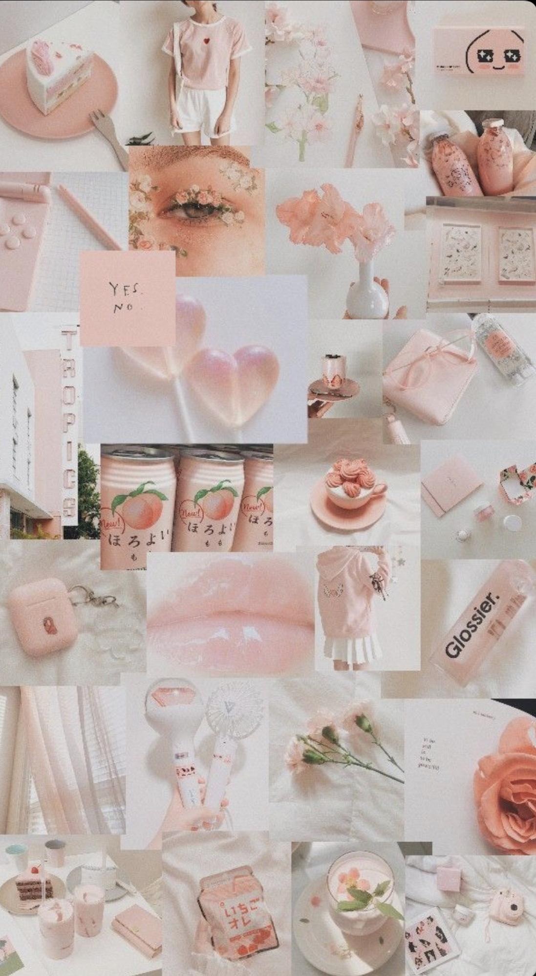 Pink💗aesthetic💗wallpaper pink wallpaper aesthetic...