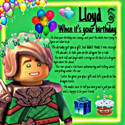freetoedit ninjagoheadcanons ninjagolloyd lloydgarmadon ninjagoedit birthday