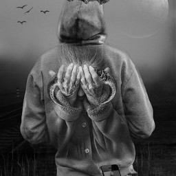 hoddie blackandwhite challenge surrealism halloween vikings imagination photomanipulation creativity storytelling editbyme madewithpicsart picsarteffects freetoedit picsart irchoodiefrombehind hoodiefrombehind