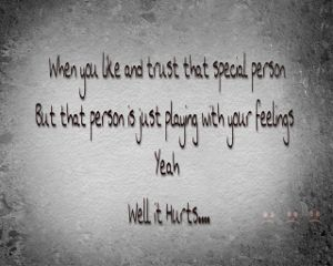 feelings thoughts broken heart trust