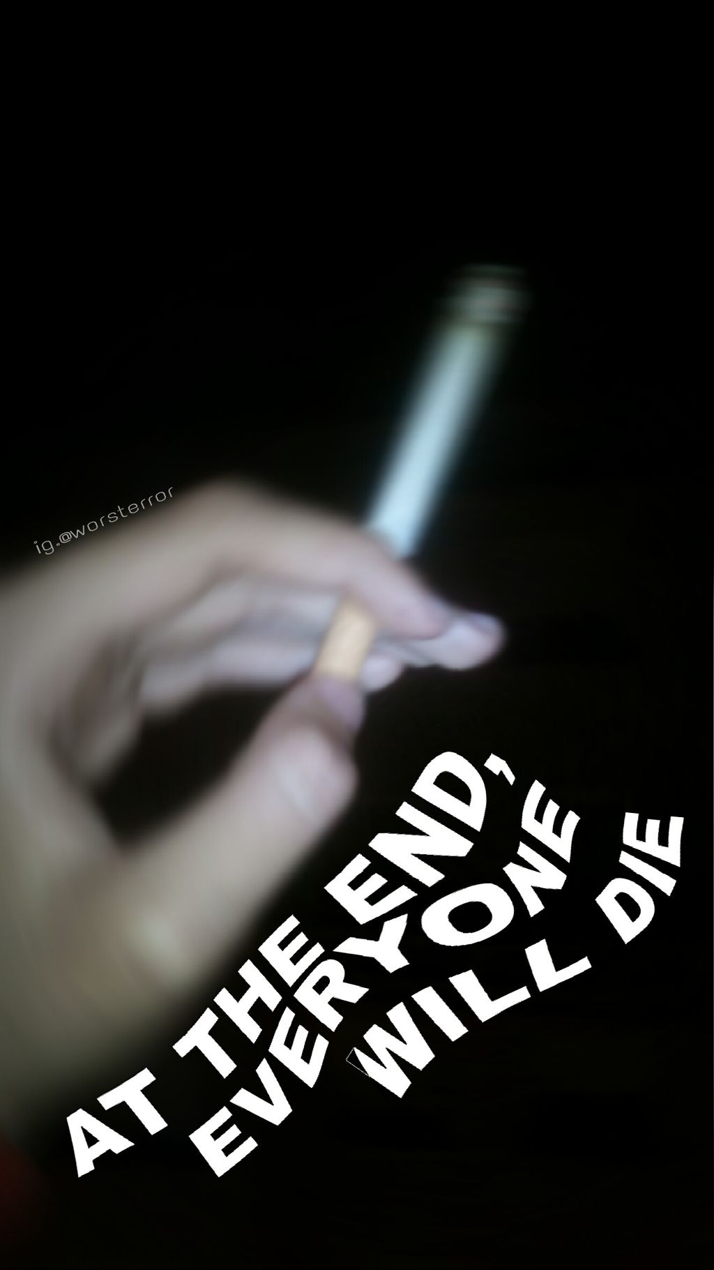 Tumblr Tumblrgirl Smoke Cigarette Cigarro Die Blackandw