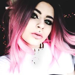 freetoedit pinkhair pink girly kittenplay