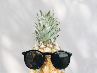 summer sunglasses pineapple cute beautiful freetoedit
