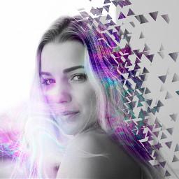 freetoedit galixyhair gaxy hair holographic