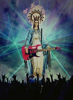 freetoedit rockconcert guitar maria mary