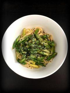 meal spargel spagetti lecker @frogbat