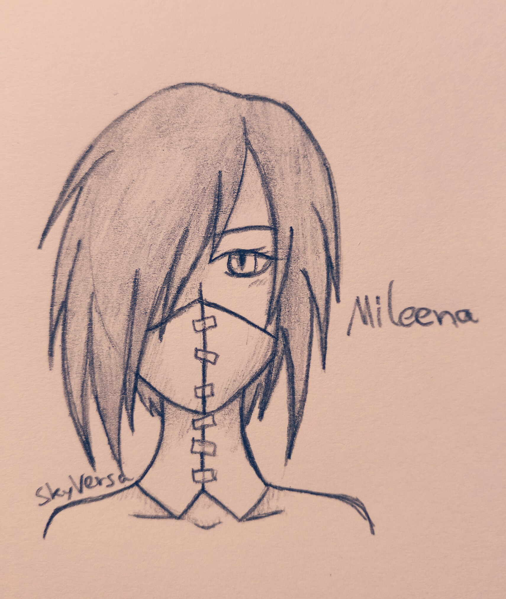 how to draw a mileena mortal
