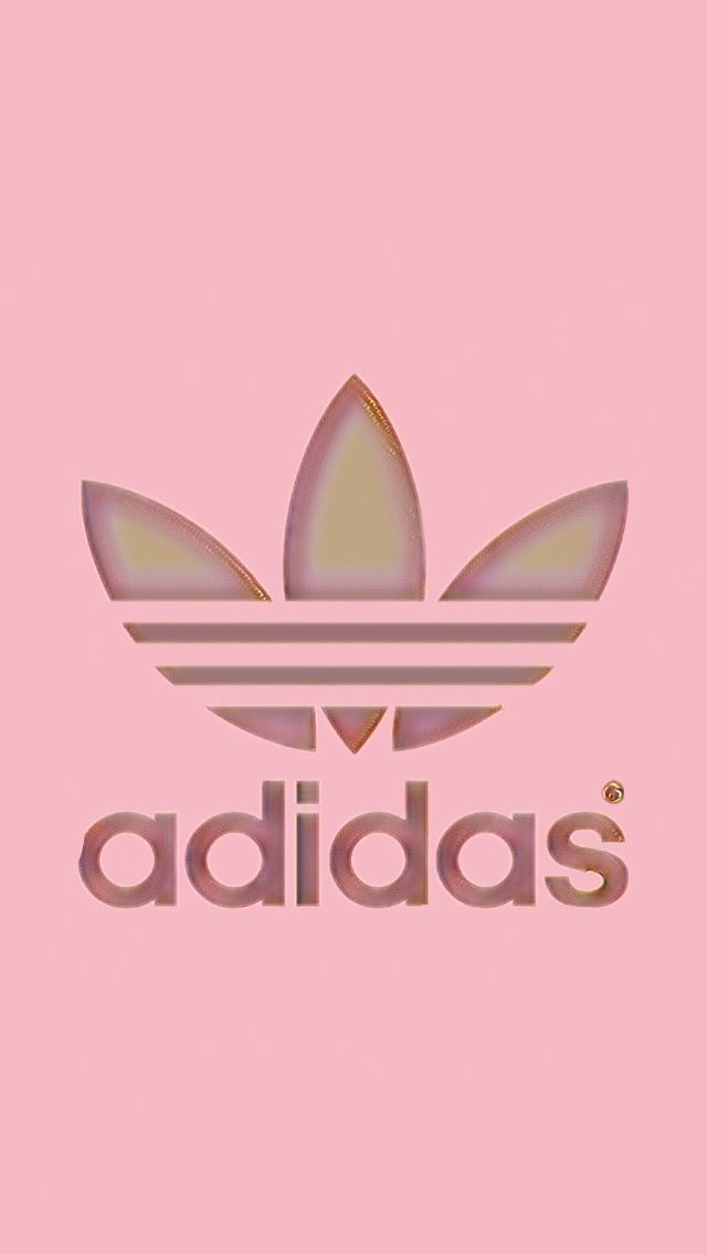 Adidas Logo Gold FreeToEdit rose gold a...