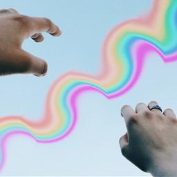 rainbowmagiceffect rainbowlightremix rainbowlightcontest
