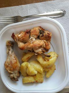 polloalfornoconpatate food