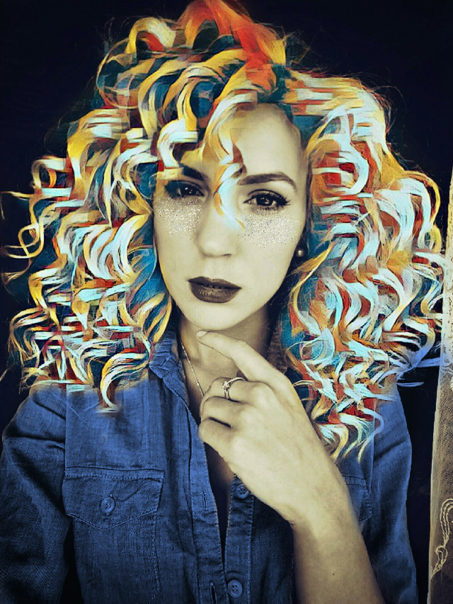 #freetoedit  #magichair #picsartclipart #glitter @freetoedit @pa