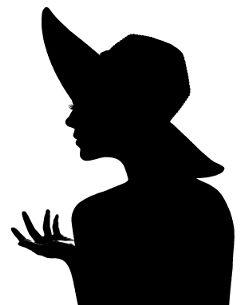 freetoedit silouette blackandwhite profile portrait