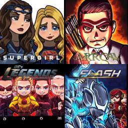 supergirl supergirlcw supergirlseason2 arrow arrowseason5