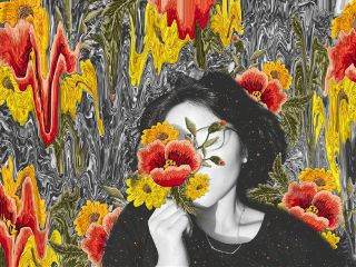 editbyme stretchtool picsartclipart embroideredflowers freetoedit