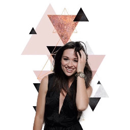 lockscreen homescreen smile crystalreed triangles