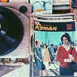 freetoedit old novel record vintage