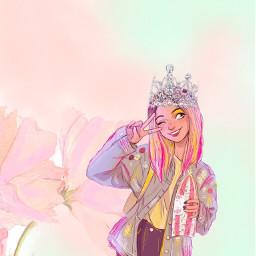 freetoedit crownstickerremix crowned crownsticker mydrawingremixedfrom