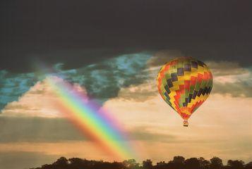 freetoedit myedit madewithpicsart countryside hotairballoon