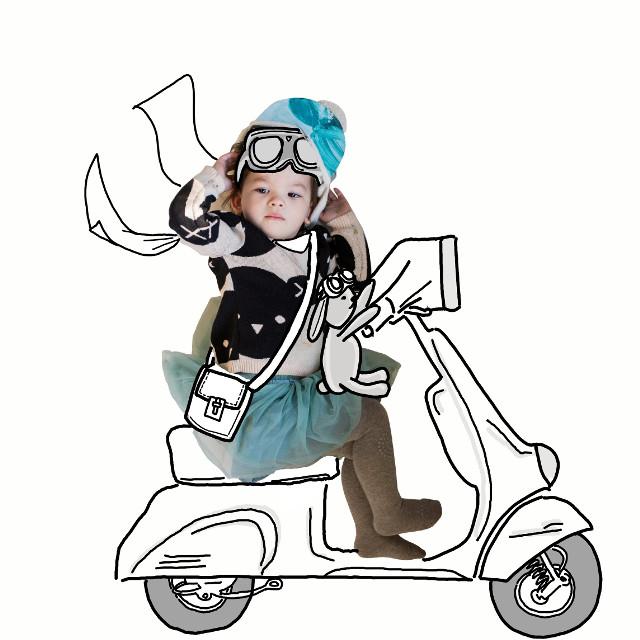 Riding Vespas in Italy ..yes please! #drawing #illustrations #artist #sketchbook #banksiiantics