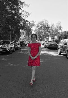 freetoedit red colorsplash dress fashion
