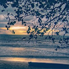 sunset photography nature beach indonesia