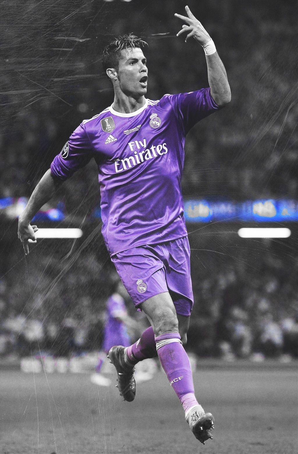 Hey Cristiano Ronaldo Real Madrid Wallpaper