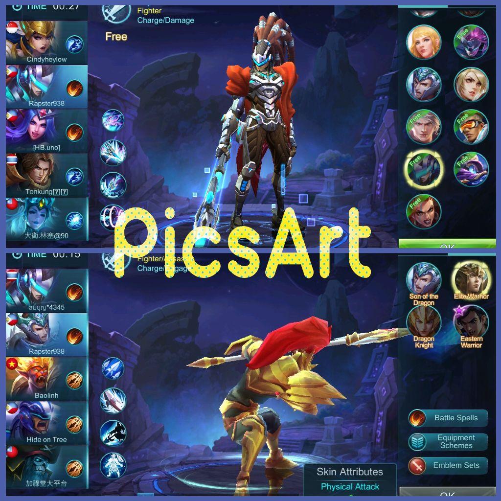 mobilelegends letsplay (Screenshot of my favorite heroe