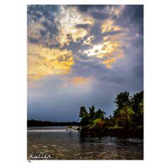sunset peacocksisland pfaueninsel lake wannsee