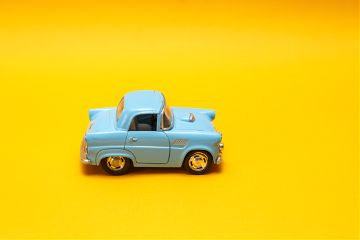 freetoedit retro car toy yellow