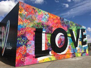 freetoedit love chico streetart colorful