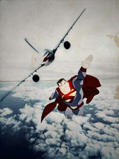 freetoedit superman plane flying skyremix