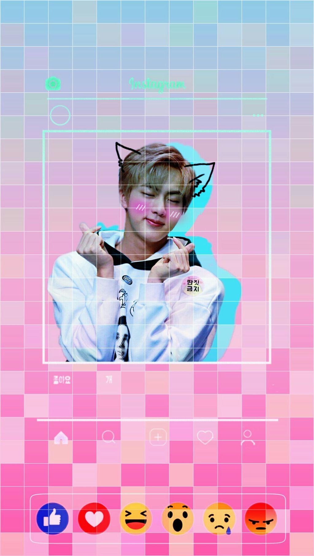 Bts Jin Wallpaper Lockscreen Btsjin Image By Gon