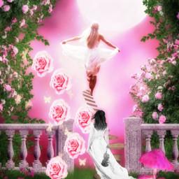 freetoedit stickers_everywhere magicalworld paradise flowers