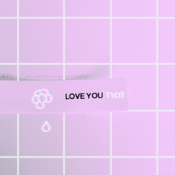 pink sarcasm clipart grid loveyounot  edit: