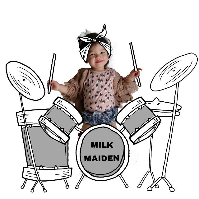 Rock on #rocknroll #music #drummer #drawing #sketch#illustrations #doodles #art #banksiiantics