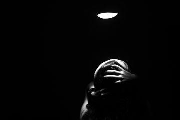 blackandwhite dark photography freetoedit
