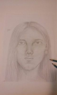 myart art me selfportrait pencil