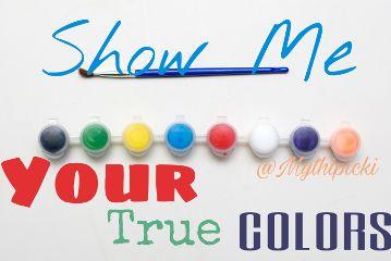 showmeyourtruecolors mythipicki freetoedit
