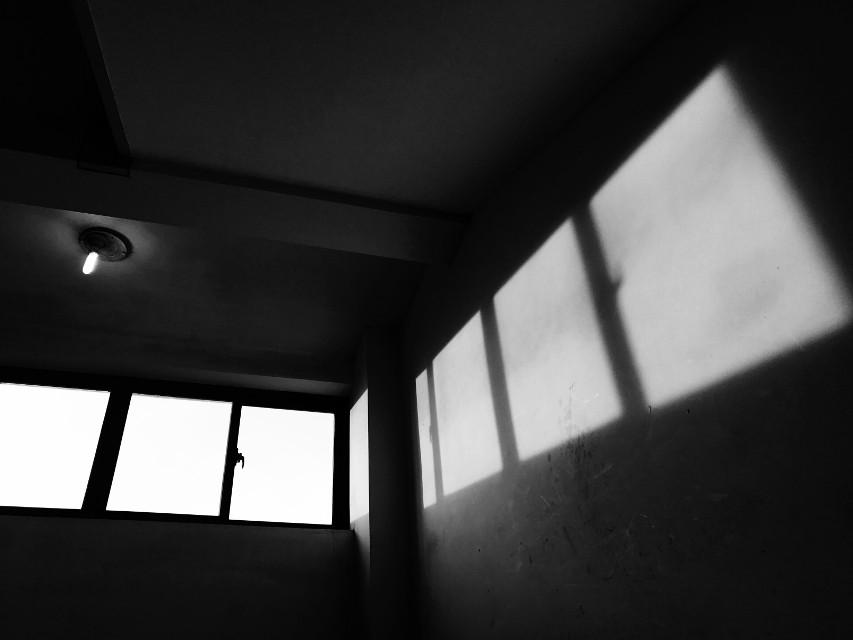 Windows#black and white#Black and White#light #freetoedit