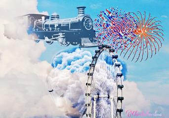 myremix edited amusementpark wheelremi ferriswheel freetoedit