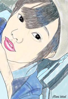 portrait japanese model picturetokeep_edit ig_anonymous_talent