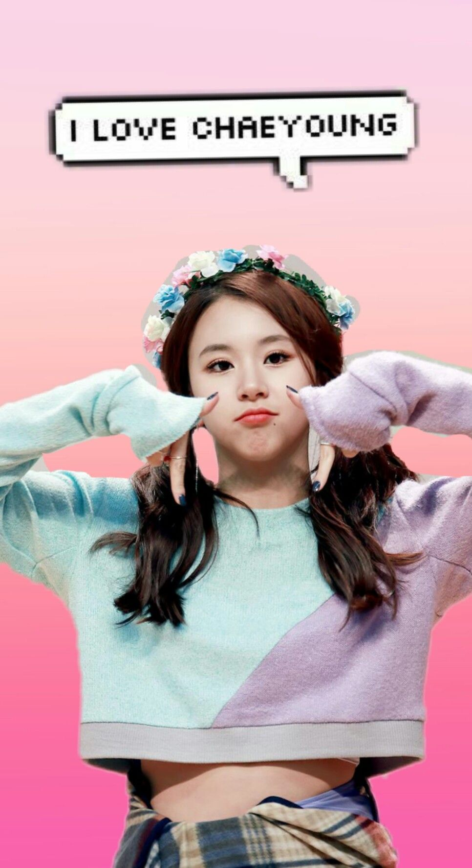 Chaeyoung Twice Wallpaper Image By Luanna