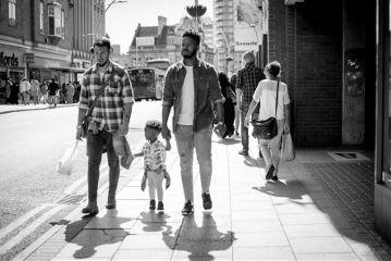 blackandwhite kid adult streetphotography