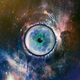 surrealism fantasy galaxy planet magic freetoedit