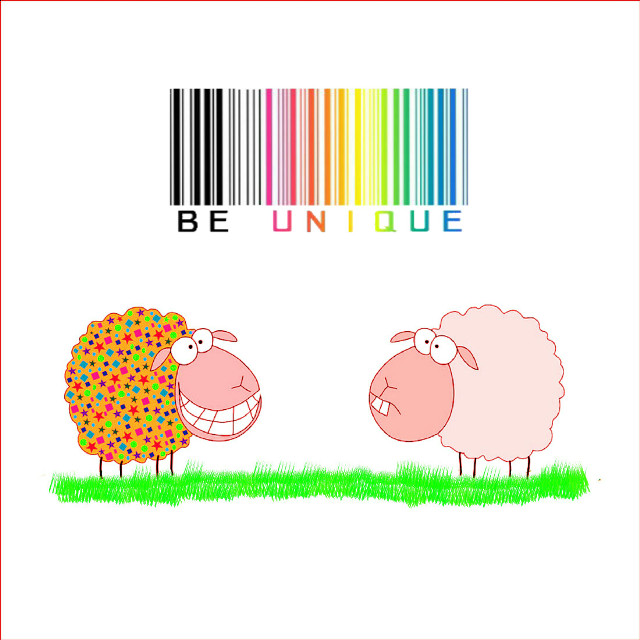 #sheep #unique #barcode