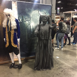 comicon awesomecon washingtondc doctorwho weepingangel